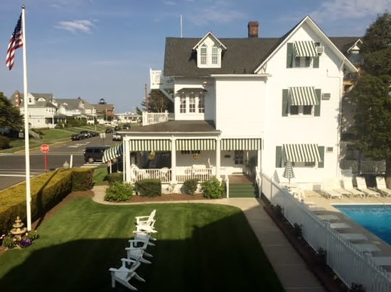 Sea Girt, NJ: The Summer House, Pool and view to the ocean