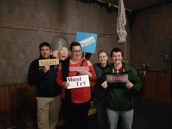 Palmerston North, New Zealand: Real Escape Game