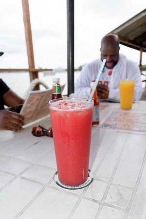 Bird's Isle: Delicious fruit watermelon juice