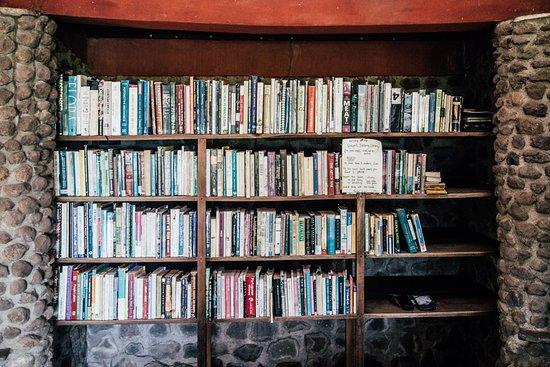 Balgue, Nicaragua: Homestead's Library