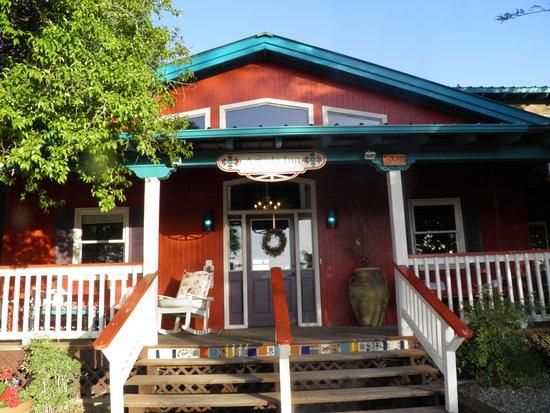 Amado Territory B & B entrance