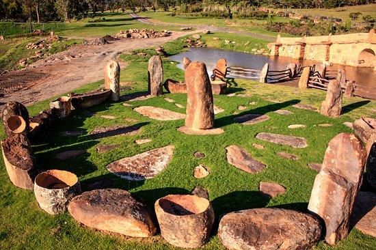 Villa de Leyva, Kolumbien: Observatorio astronomico de chia y zue el abrazo del sol y la luna