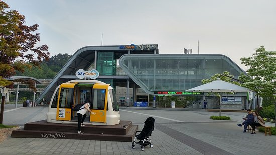 Suncheon, Südkorea: One of two station of Sky Cube