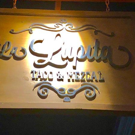 Bilde fra La Lupita Taco & Mezcal