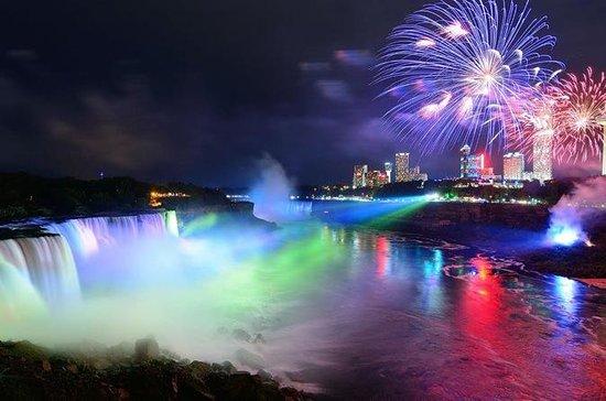 Niagara Falls Evening Light Freedom...