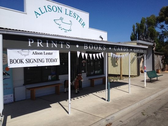 The Alison Lester Gallery / Bookshop, 1 Falls Rd, Fish Creek