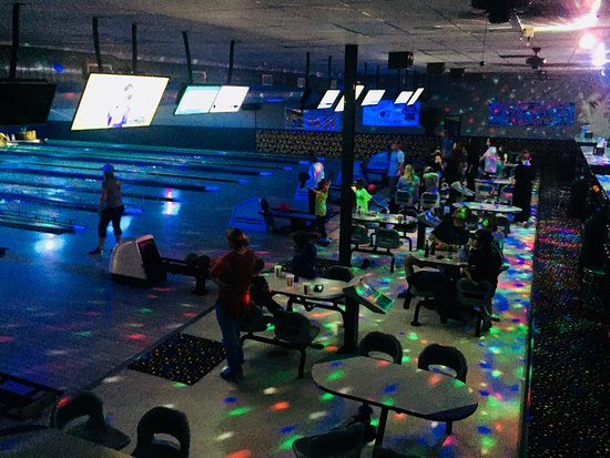Split Happens Bowling Center: Glow light bowling Friday and Saturday Nights