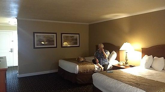 Best Western Miner's Inn: Two queen