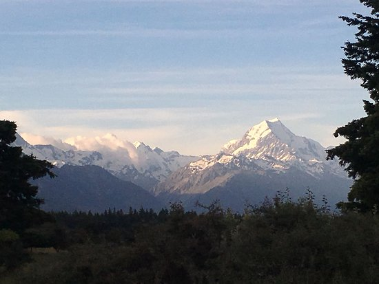 Mount Cook Glentanner Park Centre: View from our room