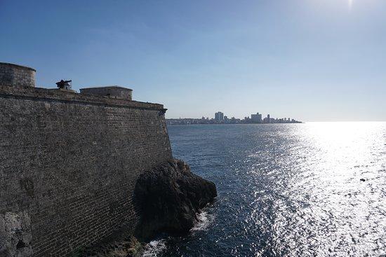 Φρούριο El Morro: View direction Malecon