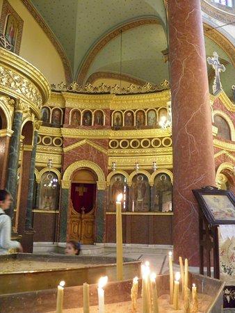 Greek Orthodox Church of St. George (Mari Girgis): ΑΠΟ ΤΟ ΕΣΩΤΕΡΙΚΌ ΤΟΥ ΝΑΟΥ