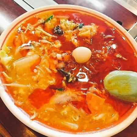 Sumita-cho, Japonya: 辛口気仙味噌タンメン、辛さ増、麺150g