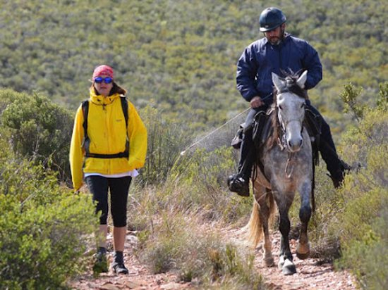 Eastern Cape, South Africa: The Baviaans Camino can be done on foot or on horseback.