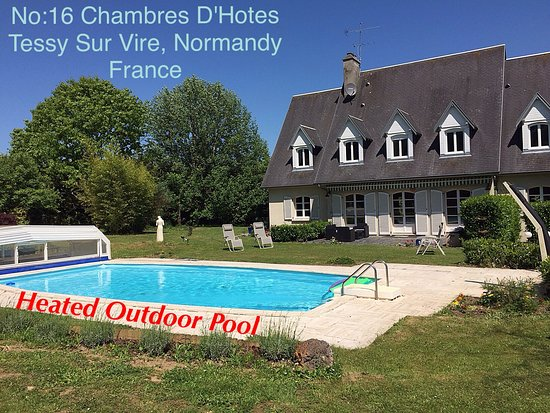Tessy-sur-Vire, Frankrike: No:16 Chambres D'Hotes
