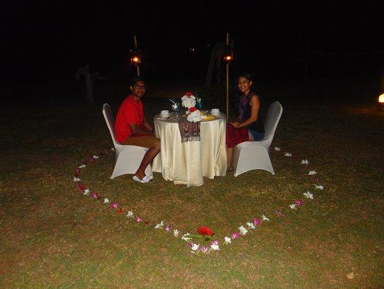 Komodo Island Tour: Honeymoon Candle light dinner