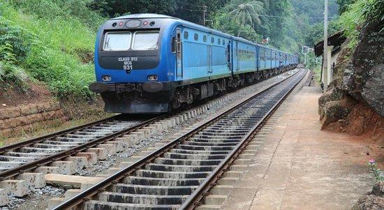 Mawanella, Sri Lanka : Railway station- Ihala Kotte
