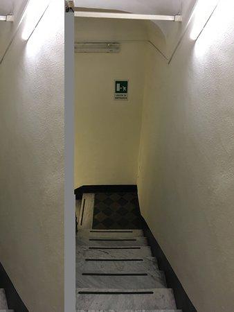 Hotel Stromboli: scale