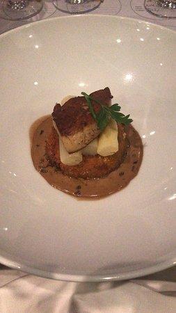 The Boathouse Restaurant: Duck confit & foie gras croquette
