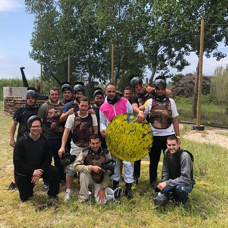 Paintball l'embuscade