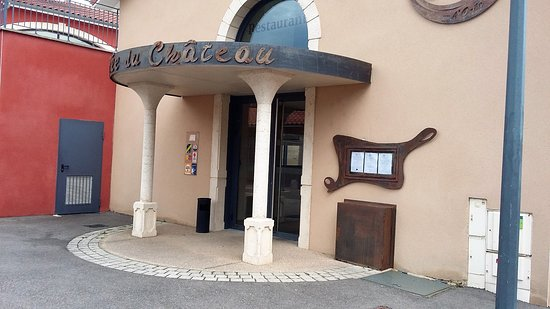 Andrezieux-Boutheon, فرنسا: entrée du restaurant