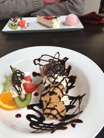 Alveley, UK: Desserts