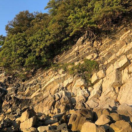 Higashikagawa, Japan: ランプロファイア岩脈