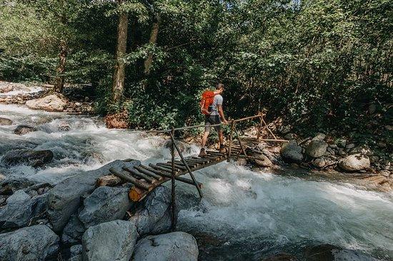 Lagodekhi, จอร์เจีย: Wooden bridge