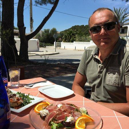 Altea la Vella, إسبانيا: Great lunch