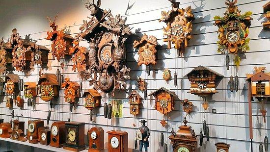 Claphams Clocks - The National Clock Museum: Cuckoo clocks at The National Clock Museum