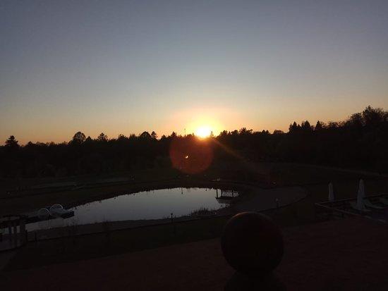 Вотря, Россия: Закат