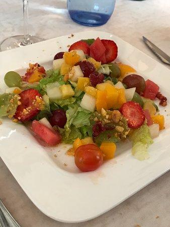 Eulate, España: ensalada de frutas buenísima