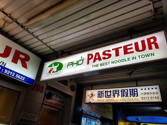 Pasteur Restaurant Sydney
