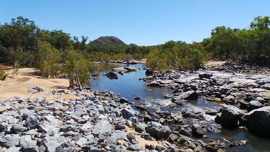 Savannahlander: one of the many water crossings