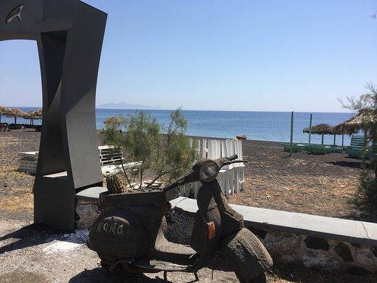 Perissa Beach: Clin d'oeil