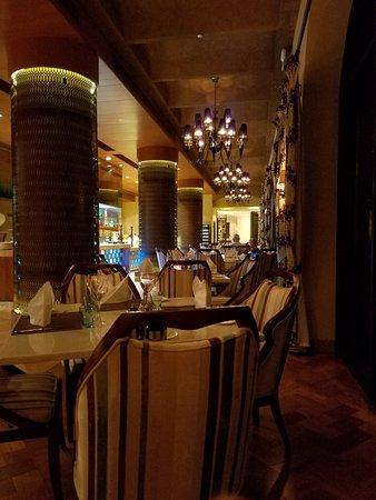 Zallaq, บาห์เรน: Fiamma restaurant