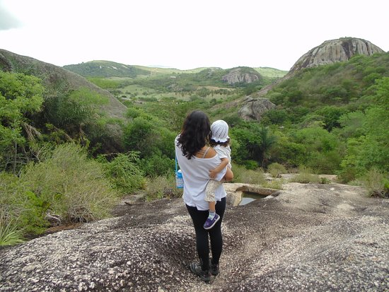 Araruna, PB: Vista Pedra do Forno
