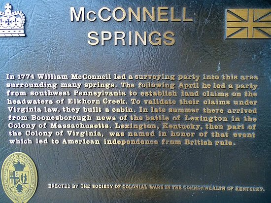 McConnell Springs: info