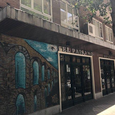 El paisano madrid calle alburquerque 15 trafalgar for Restaurante calle prado 15 madrid