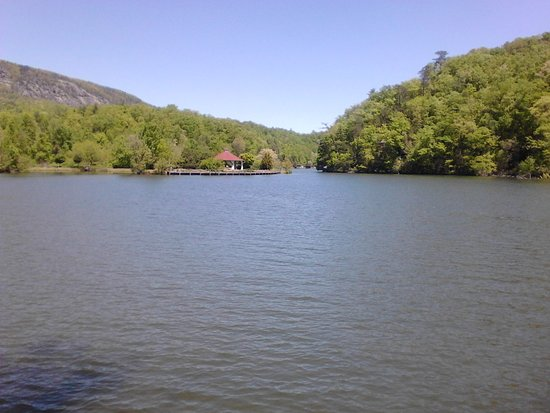 Lake Lure, Carolina do Norte: View from boardwalk