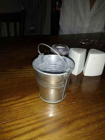 Denby Dale, UK: Mini dustbin to avoid.