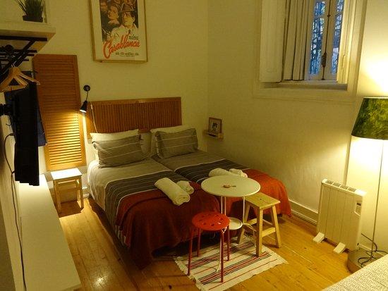 Ritz & Freud B&B: habitación Hanna (triple)