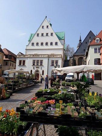 Marktplatz, Lutherstadt Eisleben, Alemania.