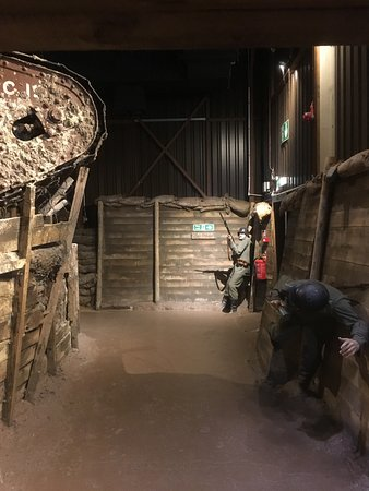 The Tank Museum: in the trenches