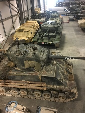 The Tank Museum: Fury from the film