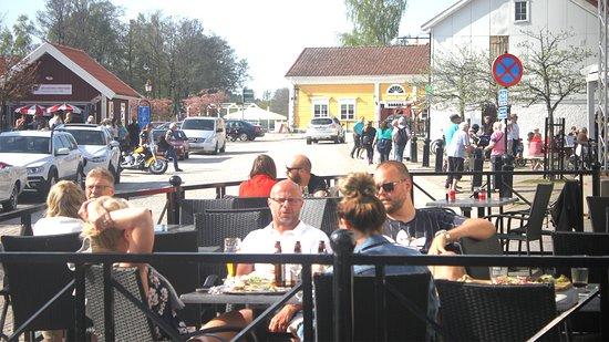 Askersund, Σουηδία: Lilla uteserveringen