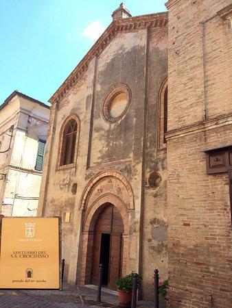 Ostra, Italia: Santuario del SS. Crocifisso ex-Chiesa di S. Gregorio