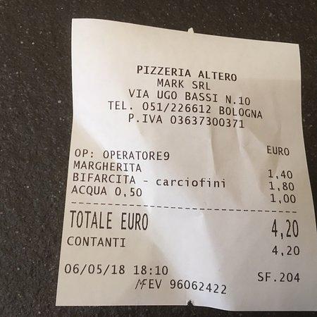 b25b341c0296d Pizzeria Altero, Bolonia - recenzje restauracji - TripAdvisor