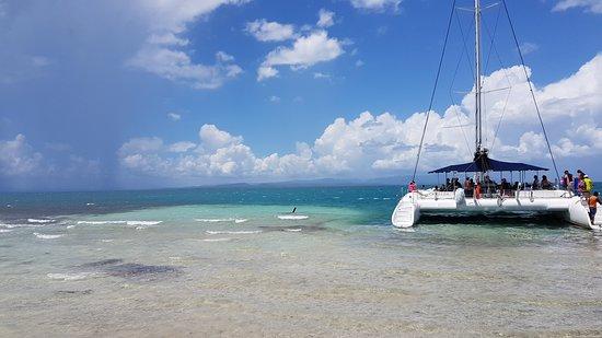 Cayo Iguana: Catamarán