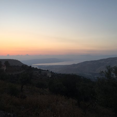 Umm Qais, Jordan: Absolutely magnificent sunset view