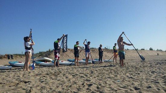 Team Decathlon Course A Pied Photo De Stand Up Med Vias Tripadvisor